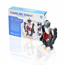 DIY Electric Tumbling Robot Dacing Model 3-Mode Assembly Kid Gift Creative Toy