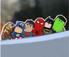 Super hero hitch hike decal sticker Vinyl Comics Marvel Avengers Car Auto Window
