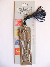 NEW Seagull Pewter Classical Violin Music Themed Bookmark Signet