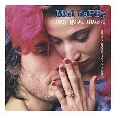 MAD HAPPY - FEEL GOOD MUSIC FOR BROKE MIDDLE CLASS rare Rock cd 12 songs 2002