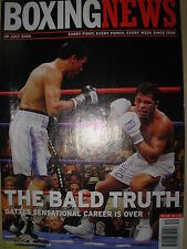 BOXING NEWS 28 JULY 2006 CARLOS BALDOMIR DEFEATS ARTURO GATTI