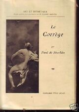 LE CORREGE  PAUL DE STOECKLIN  ART ET ESTHETIQUE