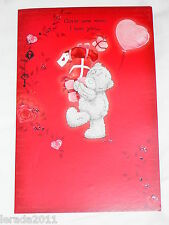 VALENTINE CARD HOW MUCH I LOVE YOU  ME TO YOU TATTY TEDDY GENERAL POP UP CARD