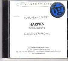 (DN601) Harpies, Bleed Believe - Test Pressing CD