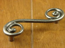 "Sonoma Cabinet Hardware Scroll Whimsical 3"" Pull Antique Pewter Kitchen Pull"
