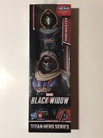 Marvel Black Widow,  Titan Hero Figure, Taskmaster, 12 inch, New