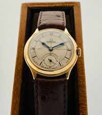Omega sector dial 9k Solid gold 1930's