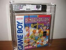 Game Boy Gallery 5 in 1 80+ VGA  Nintendo Gameboy  Factory Sealed Pal UK & Watch