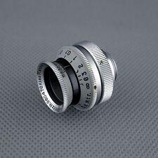 D - mount, scarce uncoated KINO PLASMAT 1.5 / 12.5 cm, Hugo Meyer Rudolph 20 ☆☆☆