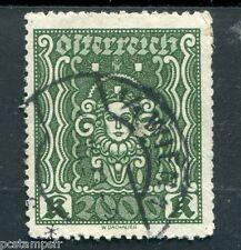 AUTRICHE, OSTERREICH, 1922 TIMBRE 289, ARTS, oblitéré, AUSTRIA, VF used STAMP
