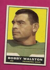 1961 TOPPS # 98 EAGLES BOBBY WALSTON  EX-MT CARD (INV# A5007)