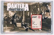 PANTERA COWBOYS FROM HELL  MC K7 MUSICASSETTA SIGILLATA!!!