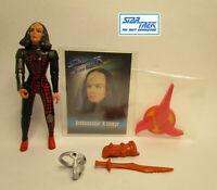 1993  Playmates Star Trek Next Generation Ambassador K'Ehleyr Complete Figure