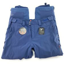 Columbia Titanium Men's Snow Rival Blue Waterproof Insulated Snow Pants Sz XXL