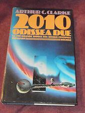 2010: Odyssey Two by Arthur C. Clarke Italian 1st print HC Odissea Due Kubrick