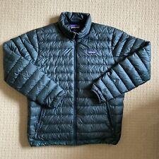 Patagonia Down Sweater Jacket Green Mens Large