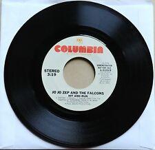"JO JO ZEP AND THE FALCONS Hit And Run DJ PROMO 45 7"" Vinyl REGGAE POP RARE 1979"