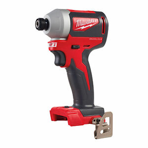 Milwaukee M18BLID2-0 M18 18V Cordless Impact Driver - 1/4 Inch Hex Drive Recepti