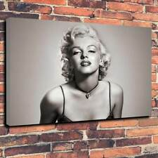 "Marylin Monroe Printed Canvas A1.30""x20""~Deep 30mm Frame V1"