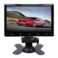 "Ultra-thin HD 7"" 800x480 TFT LCD 2-CH Video Input DVD VCR Car Rear View Monitor"