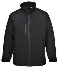 Portwest SOFTSHELL Waterproof Breathable Windproof Work Coat TK50 BLK NAVY GREY