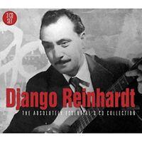 DJANGO REINHARDT - THE ABSOLUTELY ESSENTIAL 3CD COLLECTION 3 CD NEU