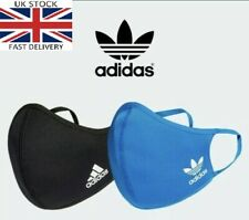 Adidas Face Mask Cover Comfort Washable Reusable Fabric M/L adults and XS/S kid