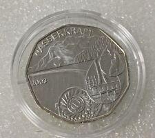 5 Euro Münze Wasserkraft  Österreich 2003