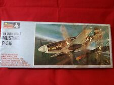 Monogram Mustang P-51B 1/4 Inch Scale - Sealed Box (1966)