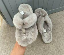 Ugg Grey Flip Flop Slippers Size Uk 8 41