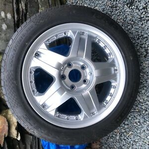 VW T5 Original Borbet Sports Line Wheel. Spare 1 only