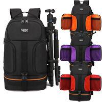 Waterproof Shockproof Camera Bag Backpack Case DSLR SLR Rucksack Pouch Padded