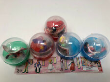 Sega Bandai Sakura Wars Gashapon Capsule Set of 5 Mini Figs Vending Machine Rare