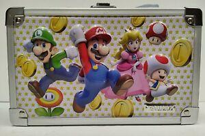 Super Mario Bros Locking Supply Box Vaultz Official Nintendo with keys NEW