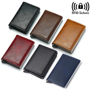 Geldbeutel RFID Schutz Geldbörse Portemonnaie Brieftasche klein Kreditkarte