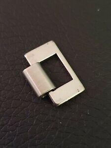 1 x maillon de bracelet ZRC Grands Fonds - Stainless steel vintage link NOS