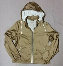 Women's Old Navy 100% nylon zip-up hooded windbreaker size Medium