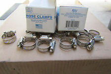 "400 Pcs #10 Stainless*Band & Housing Hose Clamp,3/8""-1 1/16"",Lfrb"