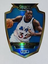 2014-15 Panini Select SHAQUILLE O'NEAL Blue Prizm Die-Cut SP 175/199