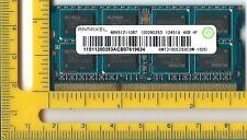 Elpida/Ramaxel 4GB 204p PC3-12800 CL11 16c 256x8 DDR3-1600 2RX8 1.5v SODIMM