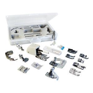 Sewing Machine Presser Foot Feet Set - Janome Singer Brother Elna Machines Parts