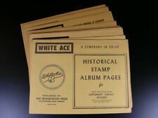 U S White Ace Supplements Choice 1964 ~ 1977 Regular Issue Blocks+ Nos Sp
