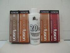 New Pkg Redken Color FUSION Hair Color 2 oz~Buy 4; Get 20 Volume 8 oz Developer