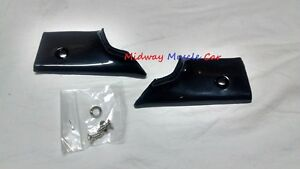 plastic rear window windlace trim corners 68-72 Chevy Chevelle Malibu