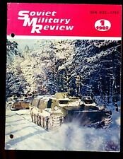 SOVIET MILITARY REVIEW -   JANUARY 1982 ( full English text) well illustrated.