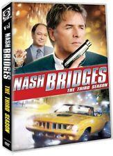 Nash Bridges - The Third Season (DVD, 1997) Don Johnson, 5 disc set