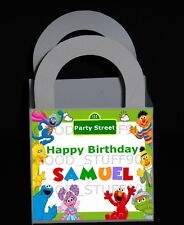 SESAME STREET 12 PERSONALIZED BIRTHDAY PARTY FAVORS BOXES ** FREE SHIPPING **