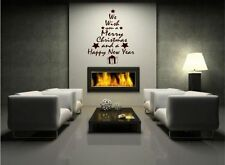 Vinyl Christmas Living Room Wall Stickers