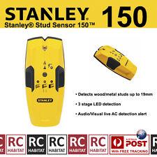 Stanley Stud Detector Sensor Finder 150 NEW MODEL AC Detection Metal & Wood Scan