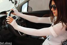 Unisex Cotton UV Protection Arm Sun protection Long Fingerless Gloves Sleeve